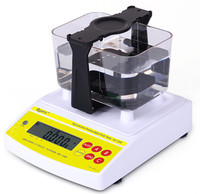 AU 200K Digital Electronic Gold Measuring Machine , Gold Scale and Purity Testing Equipment , Gold Test Solution