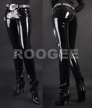 adult latex long pants