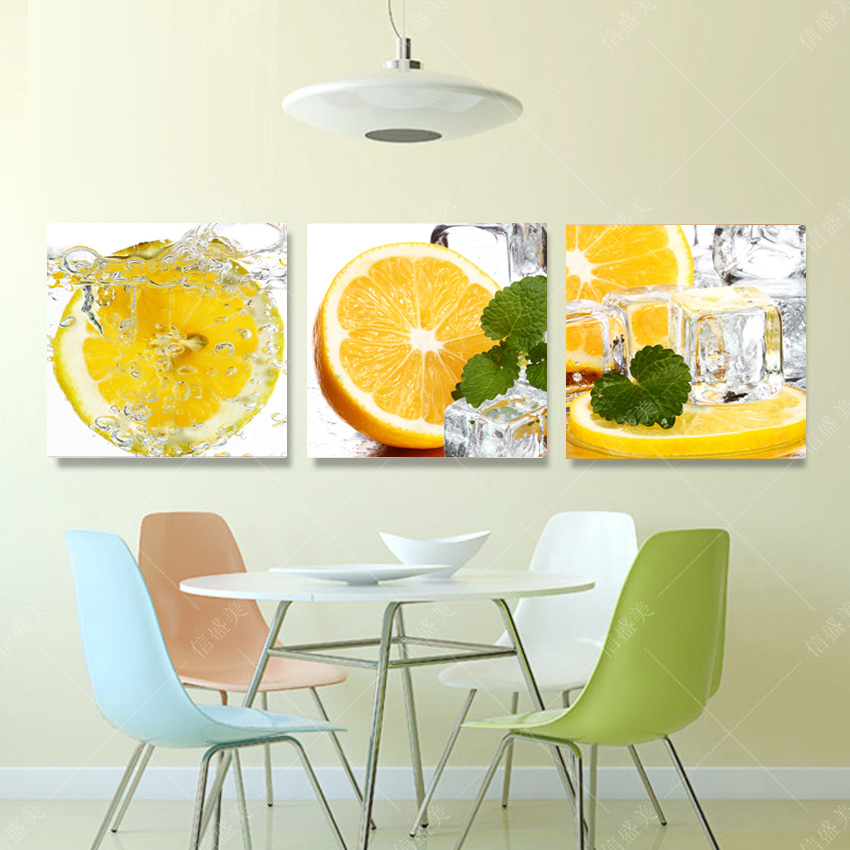 Beautiful Oil Paintings Modern Fruit Kitchen Pictures Canvas Prints ...
