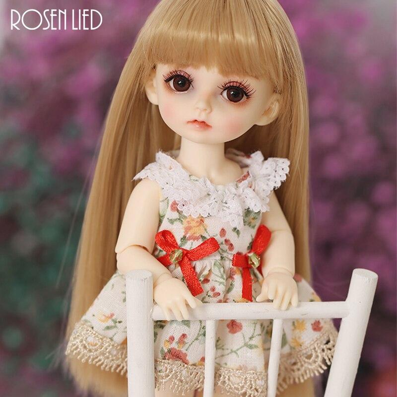все цены на Rosenlied RL Miu 1/8 BJD SD Doll Resin Body Model Boys Girls Oueneifs High Quality Toys Free Eyes Shop Fullset