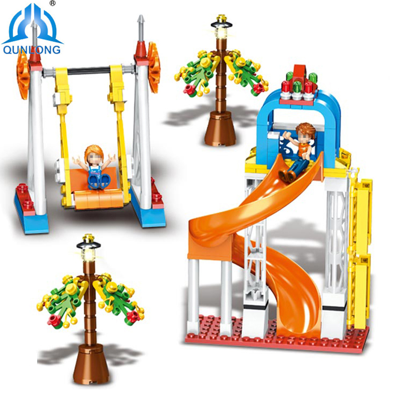 Qunlong 230pcs Mine Crafted Building Blocks Compatible Legoings Children Educational Toys Action Figures For Kids Gifts