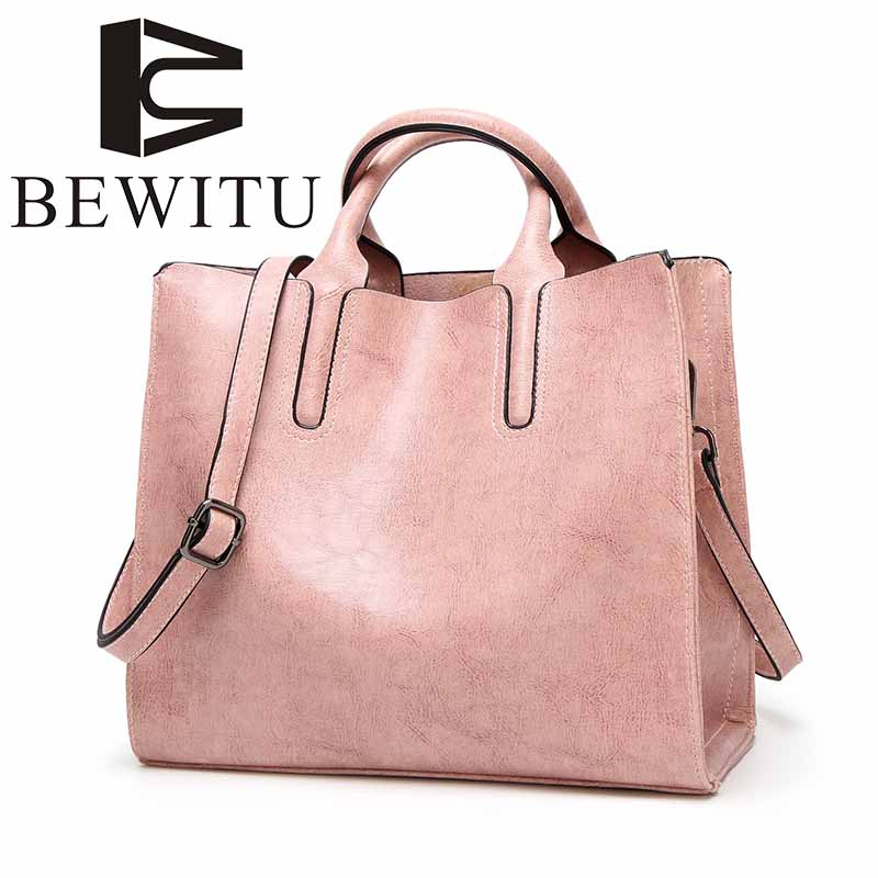 Retro oil leather handbag 2017 autumn and winter simple Tote bag shoulder Messenger bag female Korean version of large capacity ultrasonic face care skin care brush eletrical facial massager tool machine facial brush clari pore sonic cleanser
