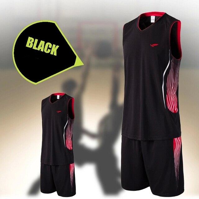 95ef71d9b Top college basketball jersey suit mens jogging running jerseys pocket  shorts basketball jerseys customized team training jersey