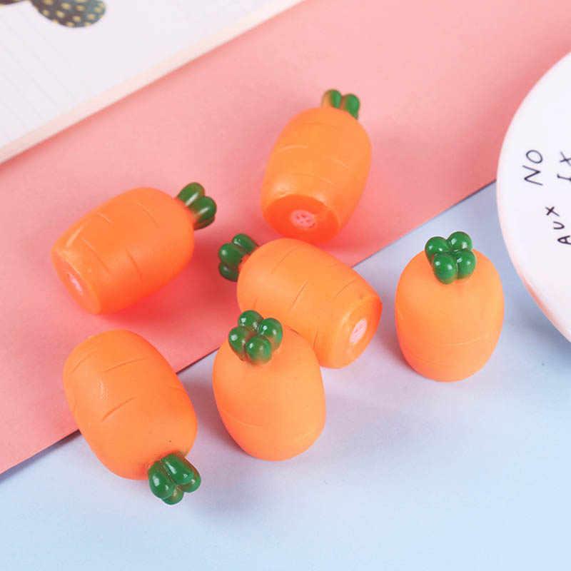 Мультяшная симпатичная имитация моркови Щепка музыка креативная ложка vent Сжимаемый мячик игрушка маленький подарок для детей или детей Детские игрушки