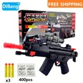 HOT!FUN! MP5 CS Game toys Gun Air Soft Gun Airgun Paintball Toy Submachine Gun Soft Bullet Gun Plastic Toys Outdoor activities