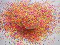 Mix Neon Colors Solvent Resistant HEXAGON Shape Glitter Sequins,Spangles for nail art decoration G506