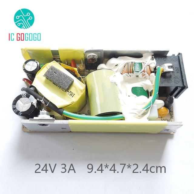 Импульсный блок питания, регулятор напряжения на плате, 3000 мА, 110 В, 220 В, 50/60 Гц, SMPS