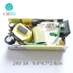 AC-DC 24V 3A Switching Power Supply Module Switch Circuit Bare Board Voltage Regulator Converter 3000MA 110V 220V 50/60HZ SMPS(China)