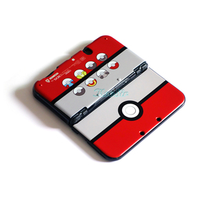 Image 2 - Protective Case for Nintend NEW 3DS XL / LL Housing Pokeball  Pikachus Pattern Shell Cover Skin for Nintendo NEW 3DSLL Console