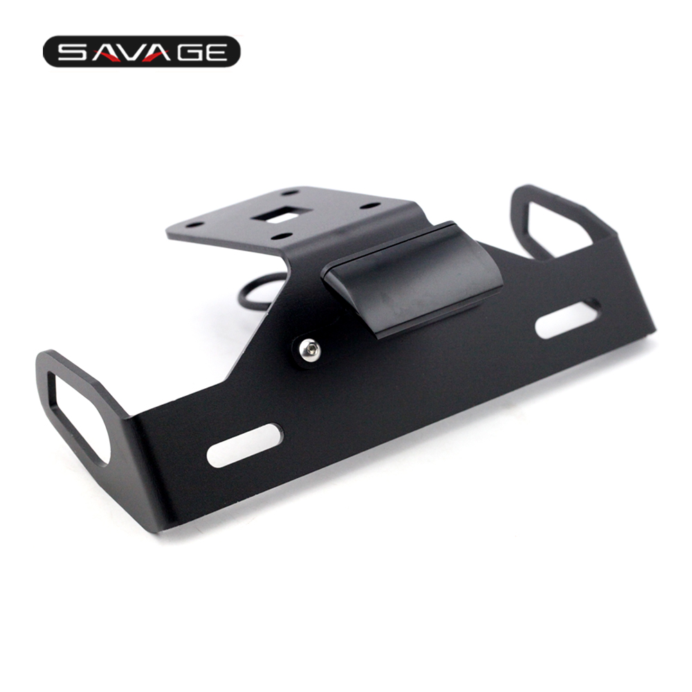 For KAWASAKI Z1000 2014 2015 2016 2017 Motorcycle Tail Tidy Fender Eliminator Registration License Plate Holder Bracket LED for kawasaki z1000 z750r z750 2007 2012 motorcycle tail tidy fender eliminator registration license plate holder led light