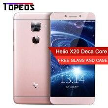 """Letv LeEco Le S3 X626 4G Mobile Téléphone 21.0MP 4 GB RAM 32 GB ROM Deca Core MTK6797 Android 5.5 """"digitales téléphone Cellulaire"""