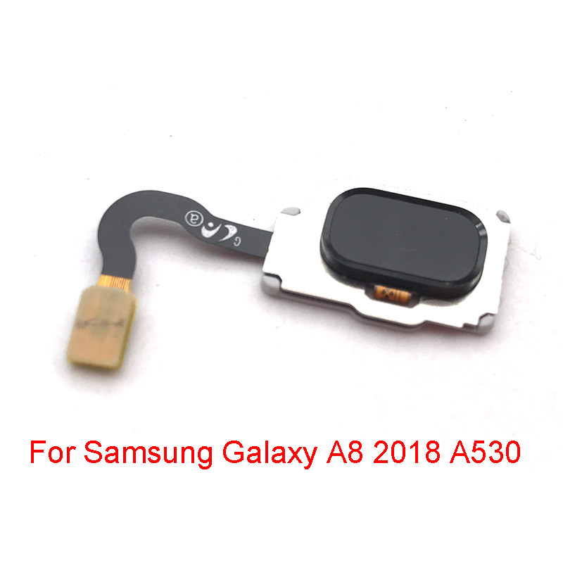 Home Button Fingerprint Menu Return Key Recognition Sensor Flex Cable For Samsung Galaxy A8 2018 A530