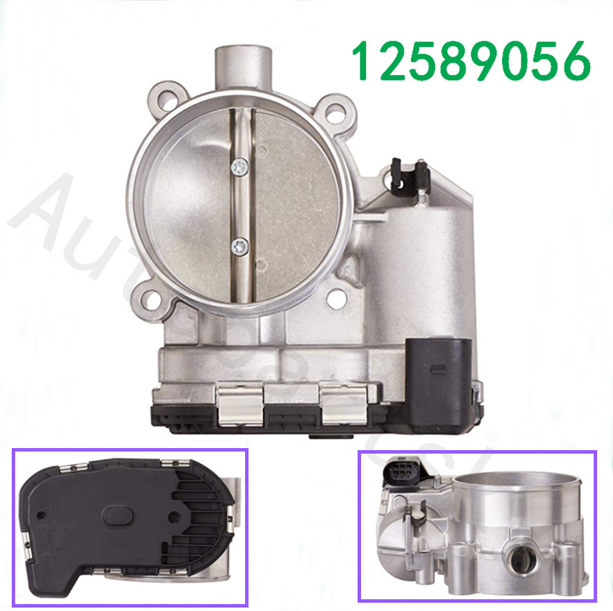 Part # 12589056 OEM High Quality Throttle Body For Buick & Cadillac 3.6L V6 Gas DOHC 2004 2008 S20004 0280750202 673016 2172253|Throttle Body| |  - title=