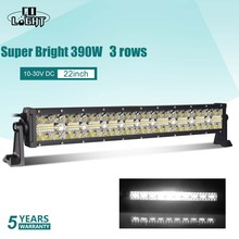 CO LIGHT 7D 390W 585W 780W 3-Row LED Light Bar 22 32 42 Combo Beam Offroad Led Work for Jeep Truck SUV ATV 4x4 12V 24V