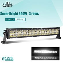"CO LICHT 7D 390W 585W 780W 3-Reihe LED Licht Bar 22 ""32"" 42 ""Combo Strahl Offroad Led Work Licht für Jeep Lkw SUV ATV 4x4 12V 24V(China)"