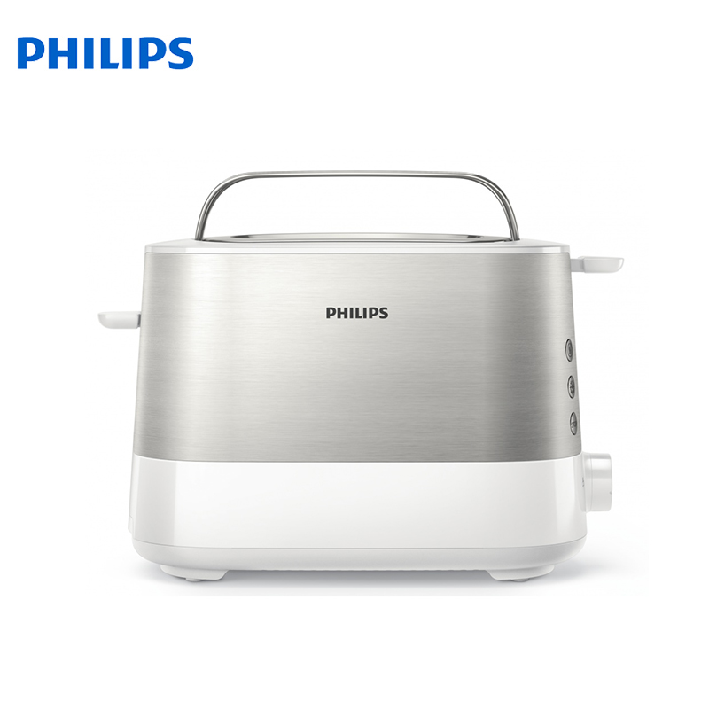 Toaster Philips HD2637/00 bread Household Baking 2 Slices Slots for Breakfast toast machine automatic zipper cake bread toast slicer baking kitchen accessories