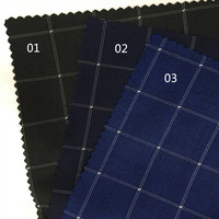 Men And Women Of Worsted Fabrics Wholesale Upscale Plaid Suit Vest Suit Material New Spring And