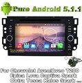 """7 """"Quad Core Android 5.1 DVD Do Carro Para Chevrolet Aveo/Aveo T200 Epica Lova Captiva Faísca Optra Kalos Tosca com Vista Traseira câmera"""
