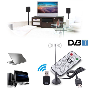 Image 3 - Mini USB 2.0 Digital DVB T SDR+DAB+FM HDTV Tuner Quality TV Antenna Dongle Stick Video Broadcasting Antenna DVBT Receiver