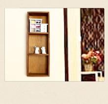 1PC  Wooden Wall Shelf Storage Holders and Racks Desktop Shelves Wall Mounted Type Kitchen Bathroom Decor Shelves  JL 070 стоимость