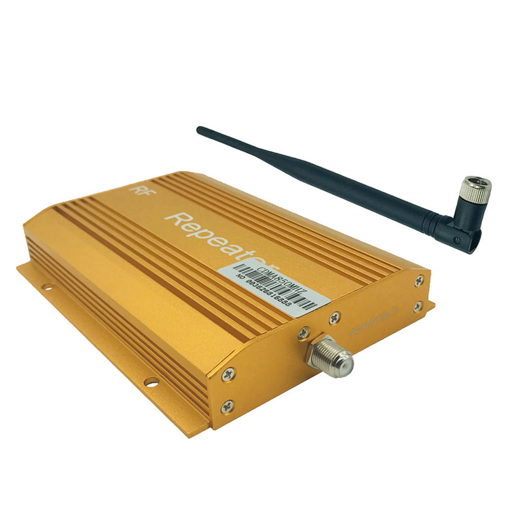 <font><b>850MHz</b></font> Signal Booster Kit Extender Cell Phone Indoor Outdoor Amplifier Wireless Repeater Portable With Antenna Accessories image