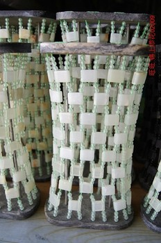 China natural jade pillow cervical pillow health pillow cool summer care
