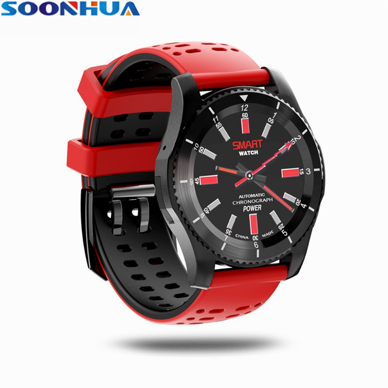 SOONHUA G8 Smartwatch Wristband Bluetooth 4.0 SIM Call Pedometer Heart Rate Blood Pressure Sleep Monitor Watch For Android IOS wireless service call bell system popular in restaurant ce passed 433 92mhz full equipment watch pager 1 watch 7 call button
