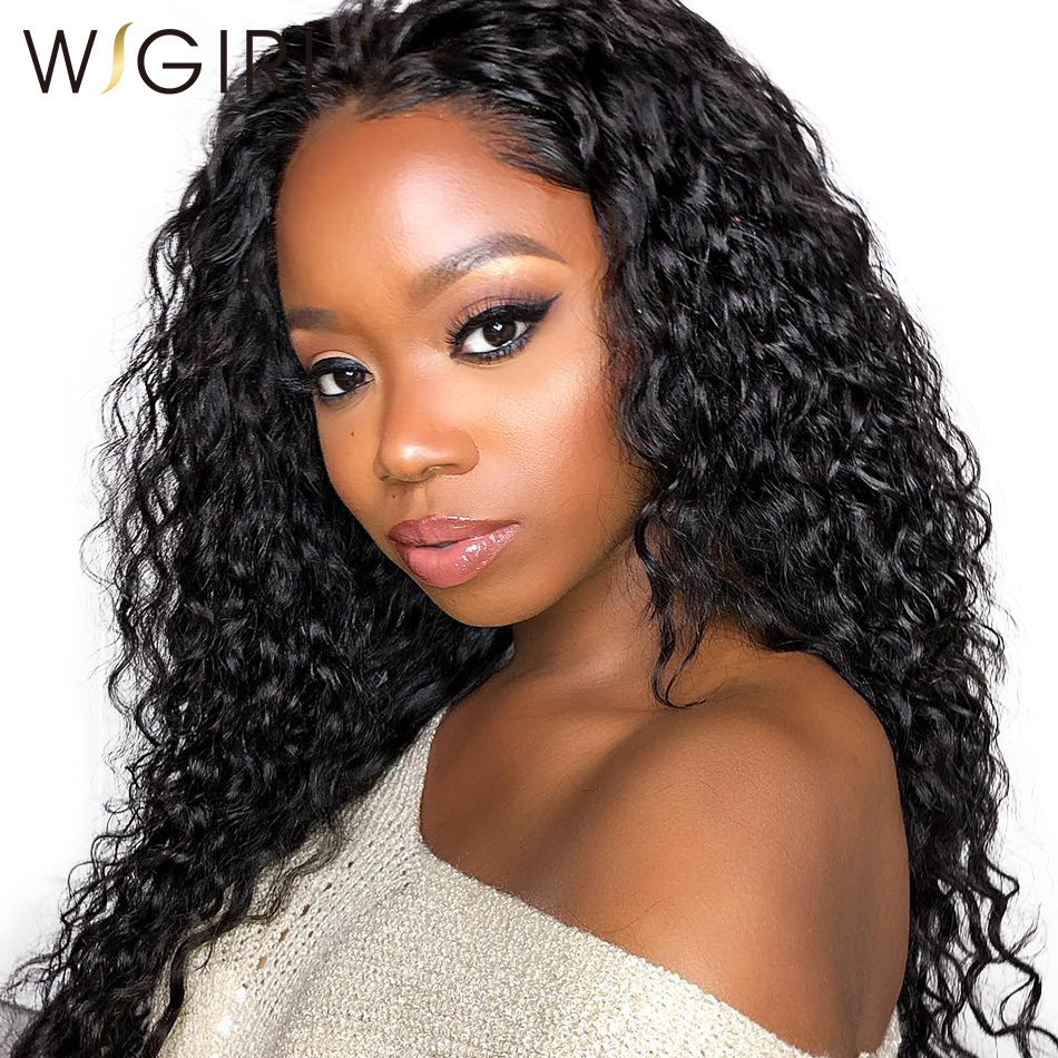 Wigirl Virgin 360 Lace Frontal Wig 250 Density Lace Front Human Hair Wigs For Black Women