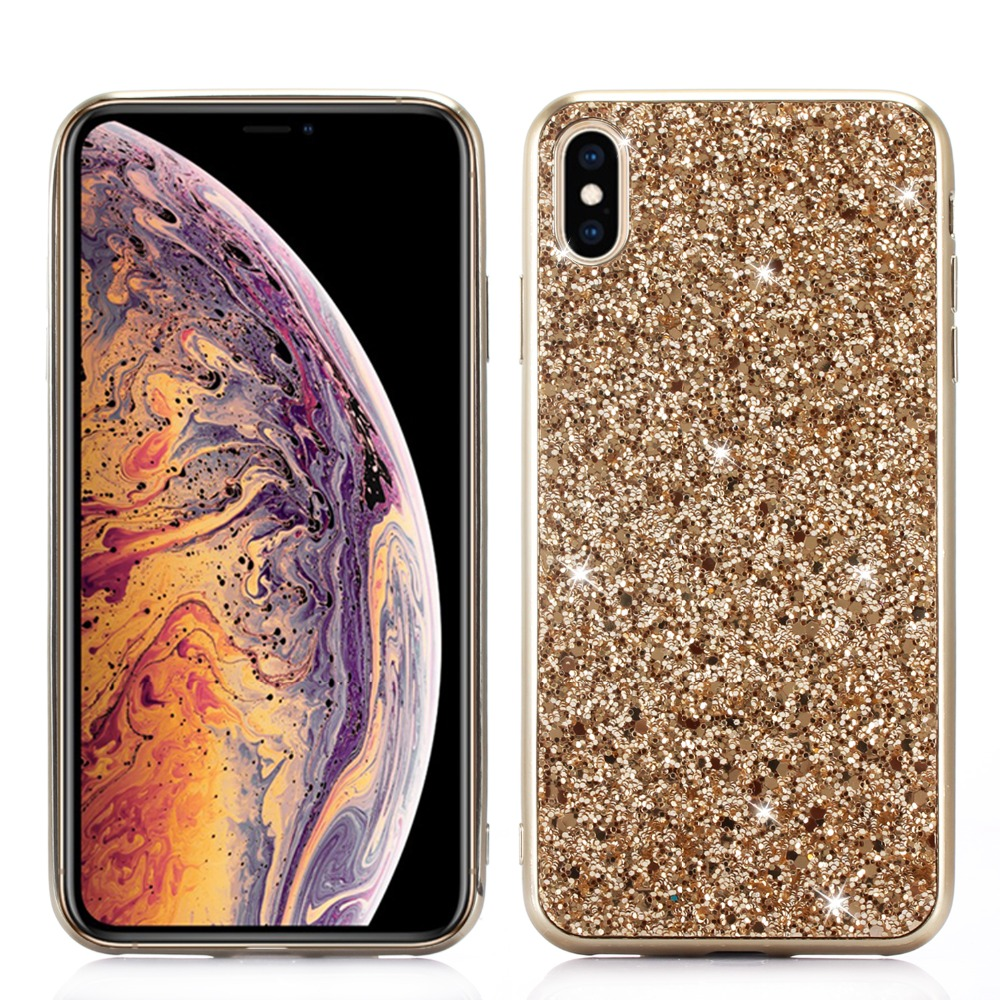 Phone Case for iPhone Xs Max Xr Xs Case Bling Glitter