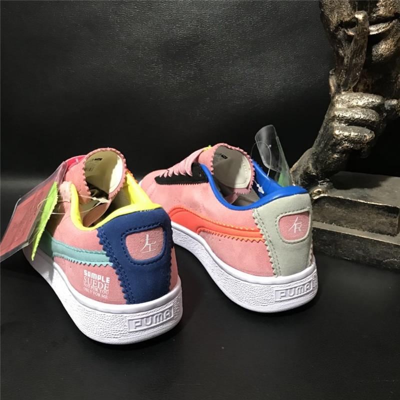 2018 New Arrival Puma Sample Suede by Michael Lau Sneaker Badminton Shoes size36-40