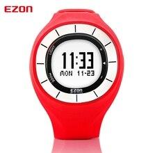 EZON взрыв моделей многоцветной дополнительно водонепроницаемый спортивные часы шаг счетчик тепла женского движения часы Красный + Белый T028