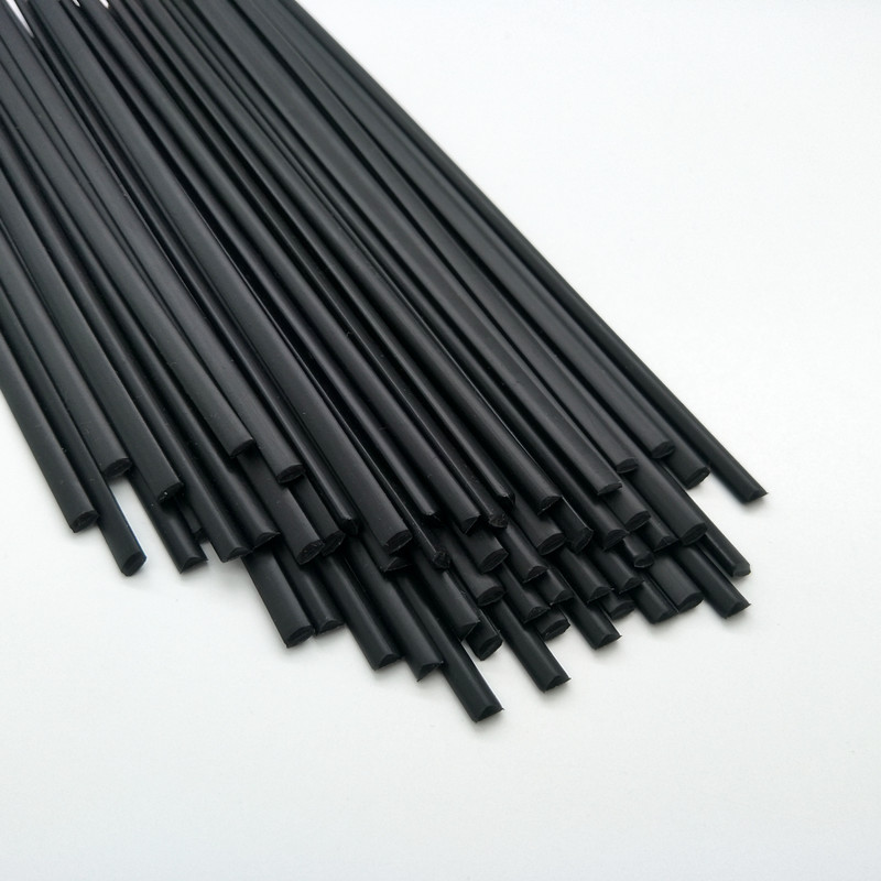 50pcs PP Electrode Black Plastic Triangle Electrode PP Welding Electrode - New Product