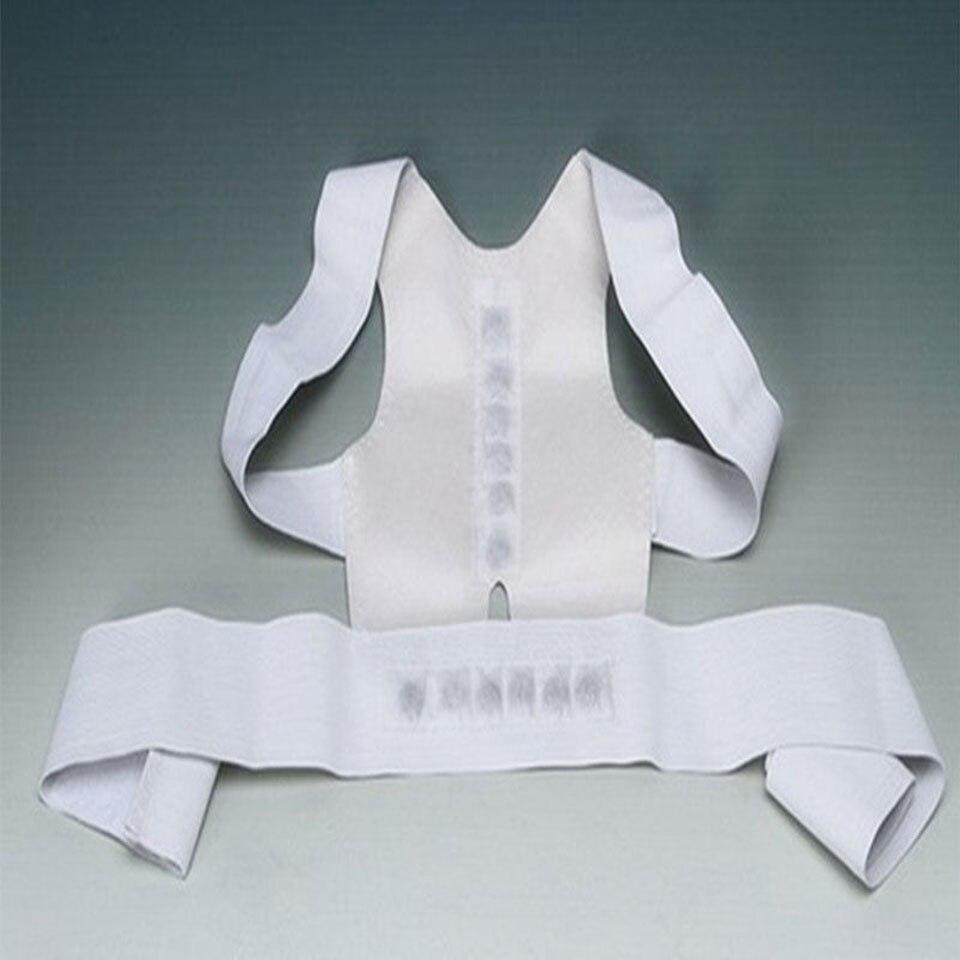Ombro para trás Postura Brace Belt Ajustável Unisex Saúde