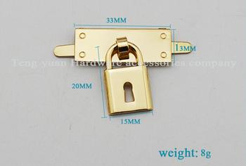10 sztuk partia bagażu akcesoria sprzętowe mały kinkiet kłódka zdobione kobiety torby tanie i dobre opinie as picture bk-993 Zamek okno