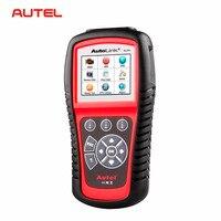 Autel Autolink AL619 ABS/SRS + CAN OBD2 Ferramenta de Verificação Autel AL619 Atualização Online Scanner OBDII Leitor de Código de Auto Scanner Automotivo