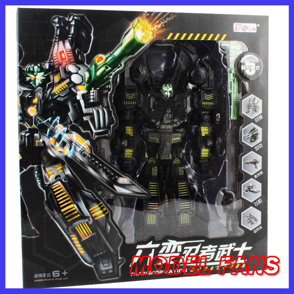цена на MODEL FANS IN-STOCK TF KO Transformation robot MMC Black SIXSHOT 31 cm height Anime version