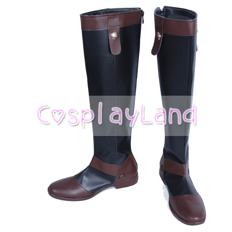 LOL The Virtuoso Khada Jhin Cosplay Boots Shoes Game Party Cosplay Boots Custom Made for Men Shoes