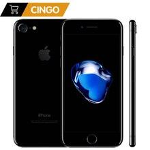Apple teléfono inteligente iPhone 7 4G LTE, teléfono móvil desbloqueado con 32/128GB/256GB rom, IOS, cámara de 12.0MP, Quad Core, reconocimiento de huella dactilar, cámara de 12.0MP, batería de 1960mA