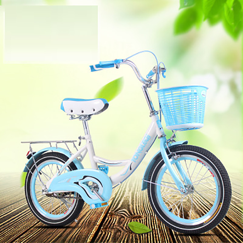 The New Children's Bicycle Buggy 22-Inch Female Princess Big Boy Elementary School Student Bicycle