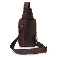 Glostrup Genuine Leather Sling Bag