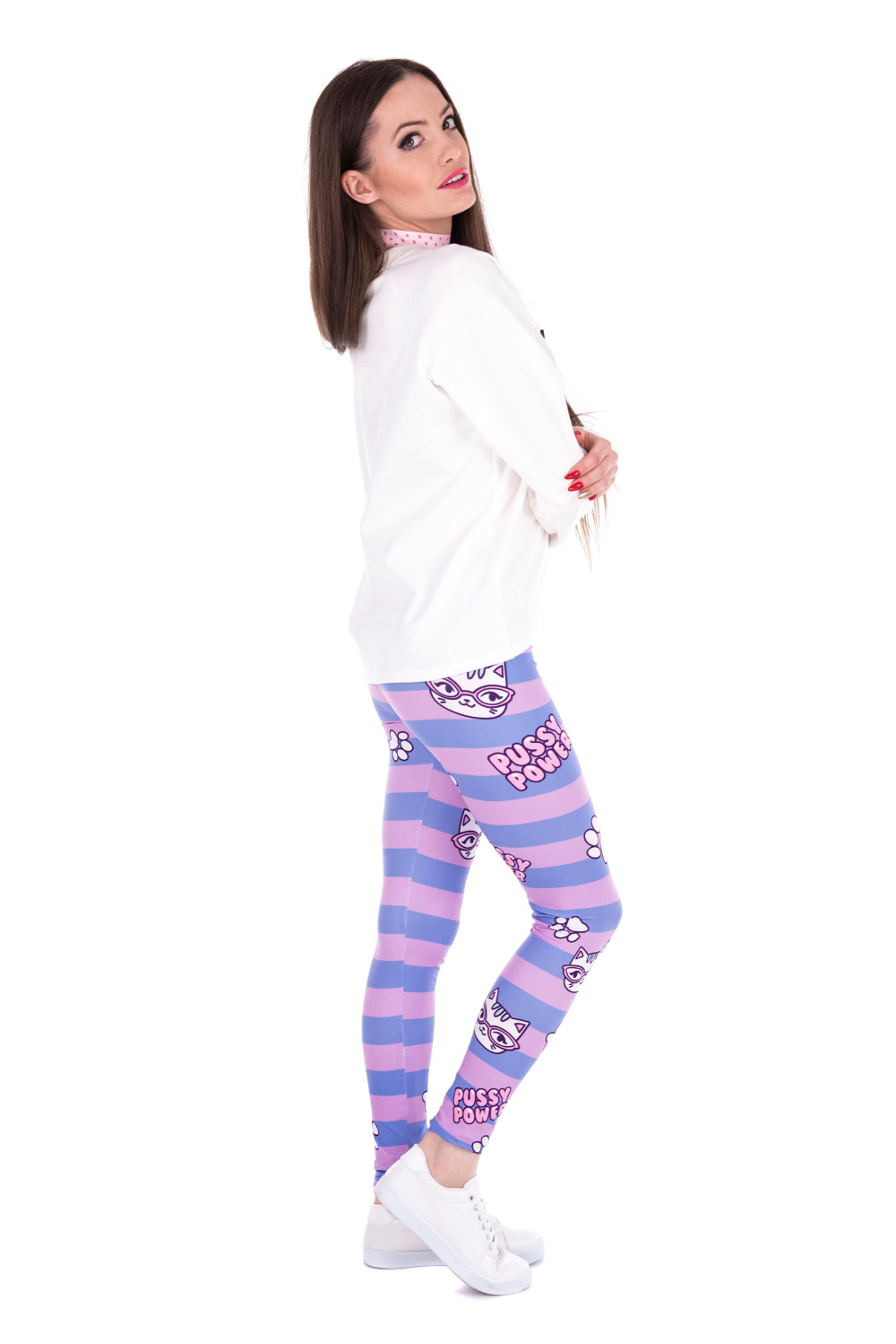 43860 PUSY POWER PINK STRIPES (6)