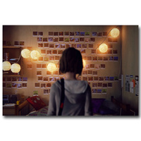 Life is Strange Art Silk Poster Print 13x20 24x36 inches Game Wall Pictures For Living Room Decor Maxine Caulfield 014