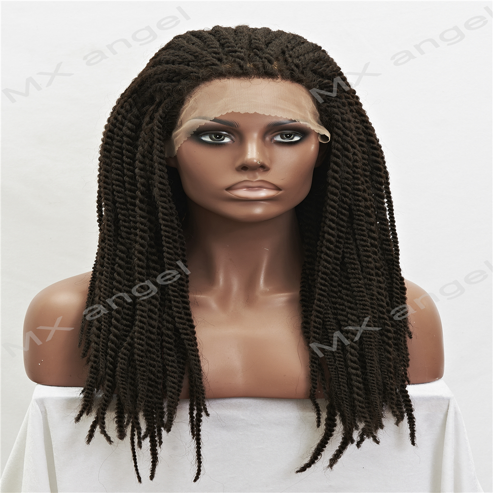 cheap braided wigs cheap synthetic heat resistant micro braided wigs african 6225