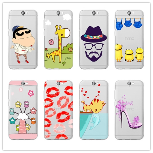 big sale 9b4f8 669d3 US $2.99 |19 colors / Clear soft TPU cute painting case cover for HTC One  A9 Aero A9 A9w case back phone cover on Aliexpress.com | Alibaba Group