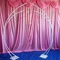 2 шт./компл. железный каркас свадебные арки дорога свинцовый Железный художественный фон для свадебной фон двери дорога свинец Луна Арка ден...