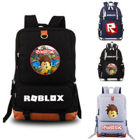 Roblox School Bag Rock Band Backpack Student School Bag Notebook Backpack Leisure Daily Backpack