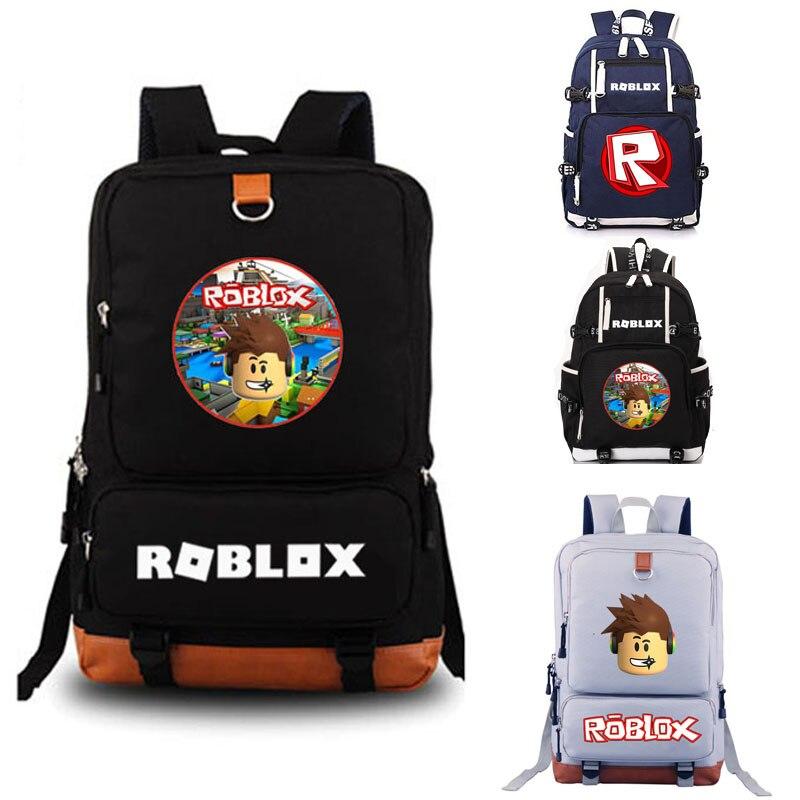 Roblox Escuela de mochila bolsa de la escuela del estudiante mochila portátil ocio mochila diaria