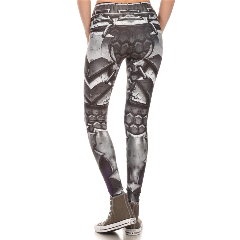 869ffffc8d83f New Arrival 1576 Sexy Girl WOW Game Horde Steel armor Alliance Printed  Elastic Fitness Polyester Workout Women Leggings Pants-in Leggings from  Women's ...