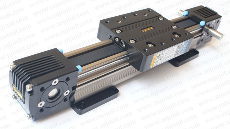 Linear Shaft Support Rail Nema 23  XYZ stage manual actuator medical motor electric guideway toothed belt driven linear guide rail high precision laser guide actuator la31 toothed belt driven