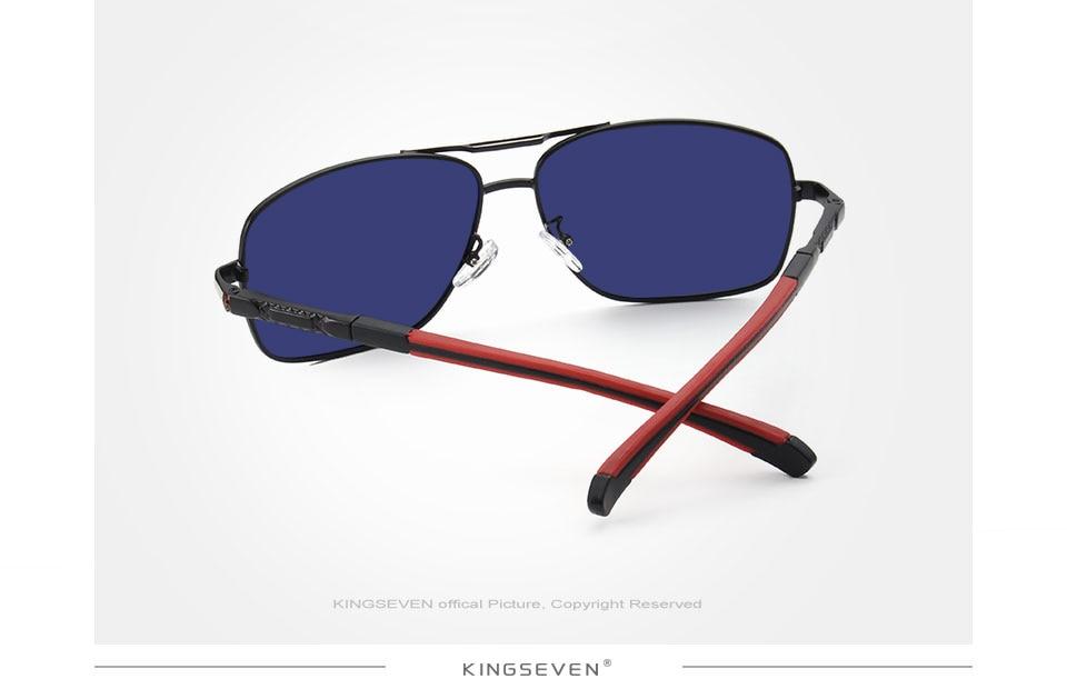 Ανδρικά γυαλιά ηλίου αλουμινίου hd polarized uv400 mirror msow